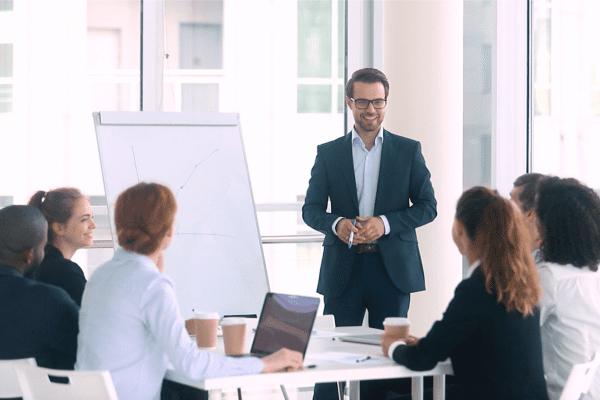 presentation skills training business team