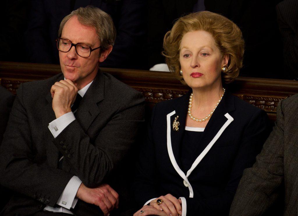 The Iron Lady (with Meryl Streep) 2011